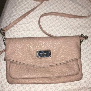 Pink crossbody bag by Nine West